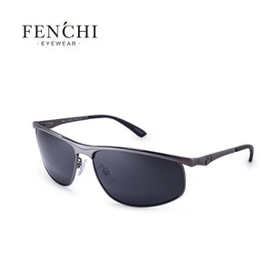 FENCHI Polarized Sunglasses Men Brand Designer New Fashion Metal Glasses Driving UV400 Sunglasses - Happysale24