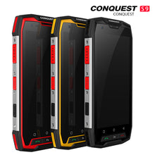 Conquest S9 Rugged Smartphone, IP68 Waterproof, 5.5Inch IPS, 8.0+16.0 Megapixel, Android 7.1 Octa Core Up to 2.35GHz, 6GB+128GB