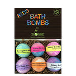 Kids Bath Bombs Gift Set with Surprise Toys - The Well Chosen