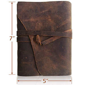 Handmade Writing Notebook 7 x 5 Inches Unlined Paper - The Well Chosen