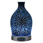 Essential Oil Diffuser, 300ml LED Lights with 3D Effect - The Well Chosen