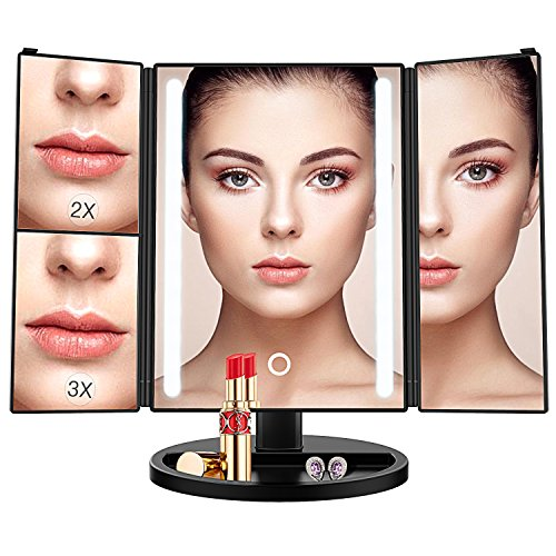 24 Led Makeup Mirror 15 inch - The Well Chosen