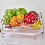 Silver Fruit Bowl Kitchen - The Well Chosen