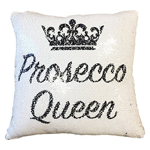 Prosecco Queen Funny Magic Cushion Cover - The Well Chosen