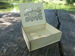 Custom Wooden Box, - The Well Chosen