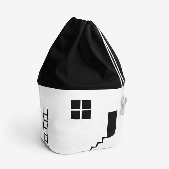 Toy Storage Bag  Cute House - The Well Chosen