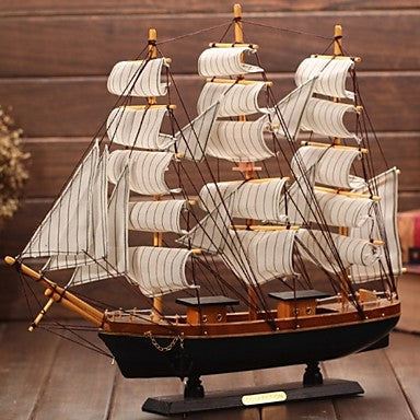 Wood Fabric Casual Ship - The Well Chosen