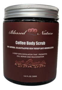 Coffee Body Scrub with Dead Sea Salt Deep Skin Exfoliator
