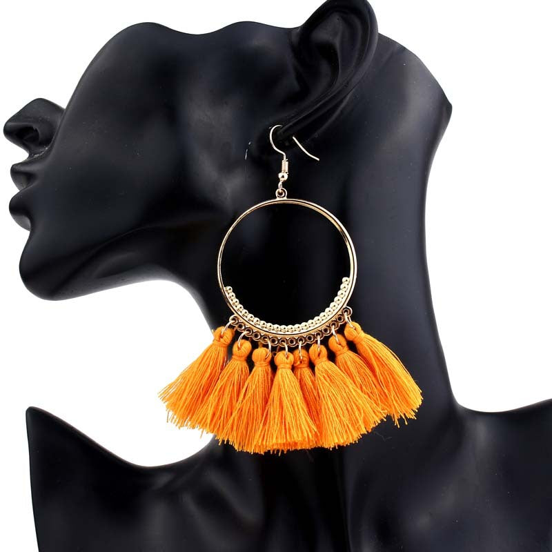 Earrings Casilda Tassel Set