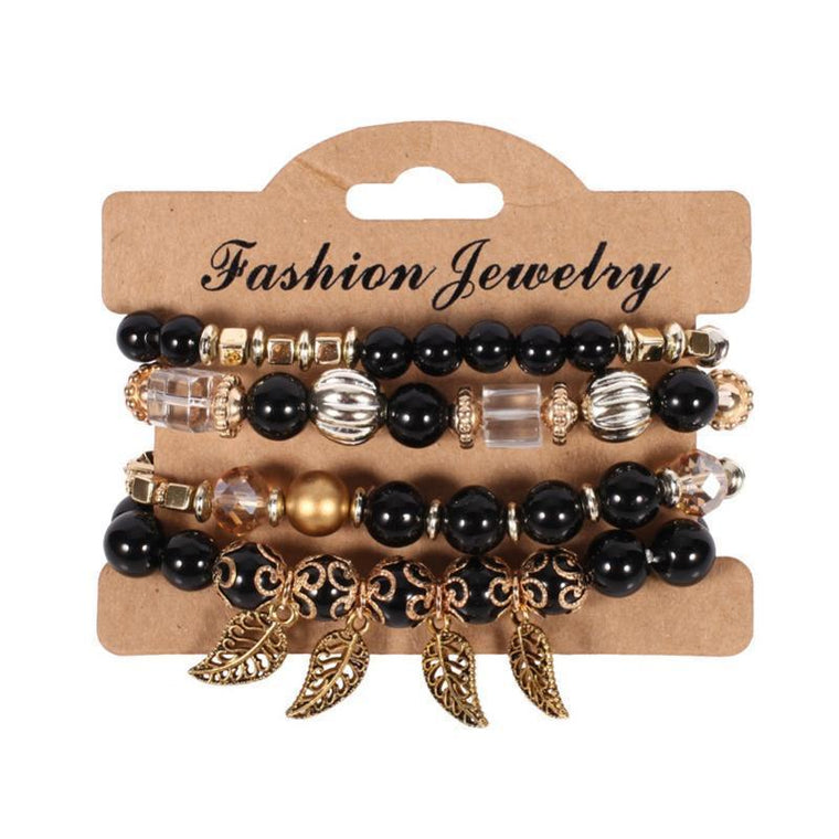 Bracalets Multi Set Black