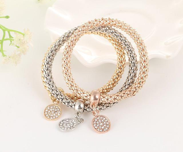 Bracelet Shine Set-Costume Jewellery