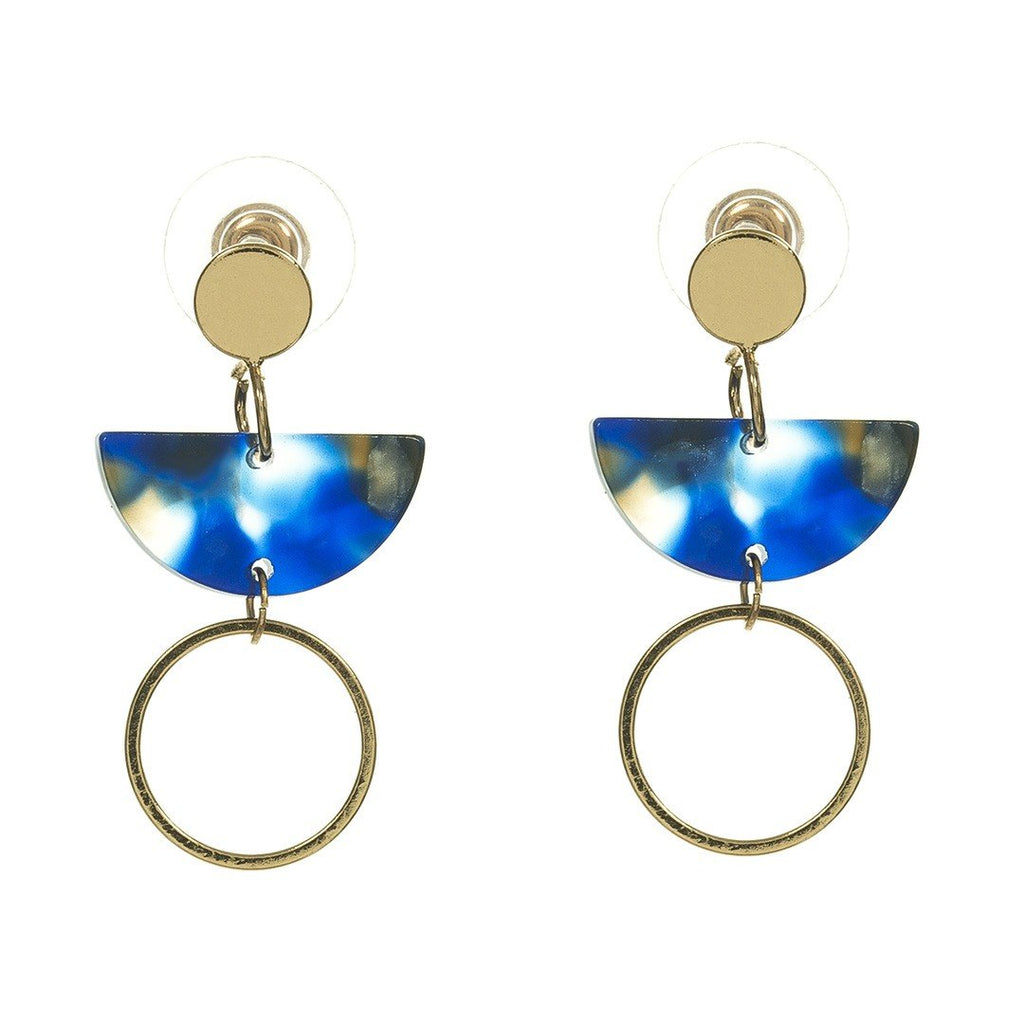 Earrings Amari Gold - Costume Jewellery