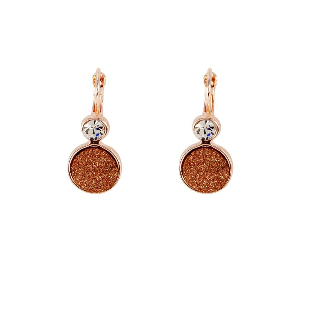 Earrings Amya Red - Costume Jewellery