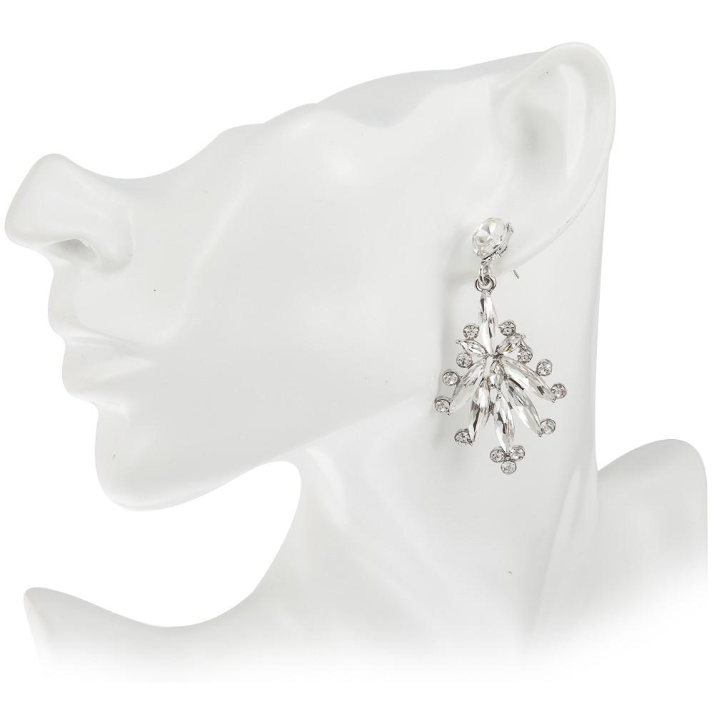 Earrings Ayanna Silver - Costume Jewellery