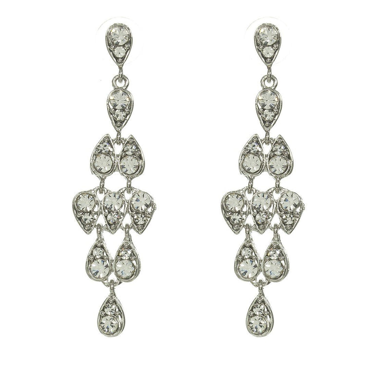 Earrings Caressa Silver