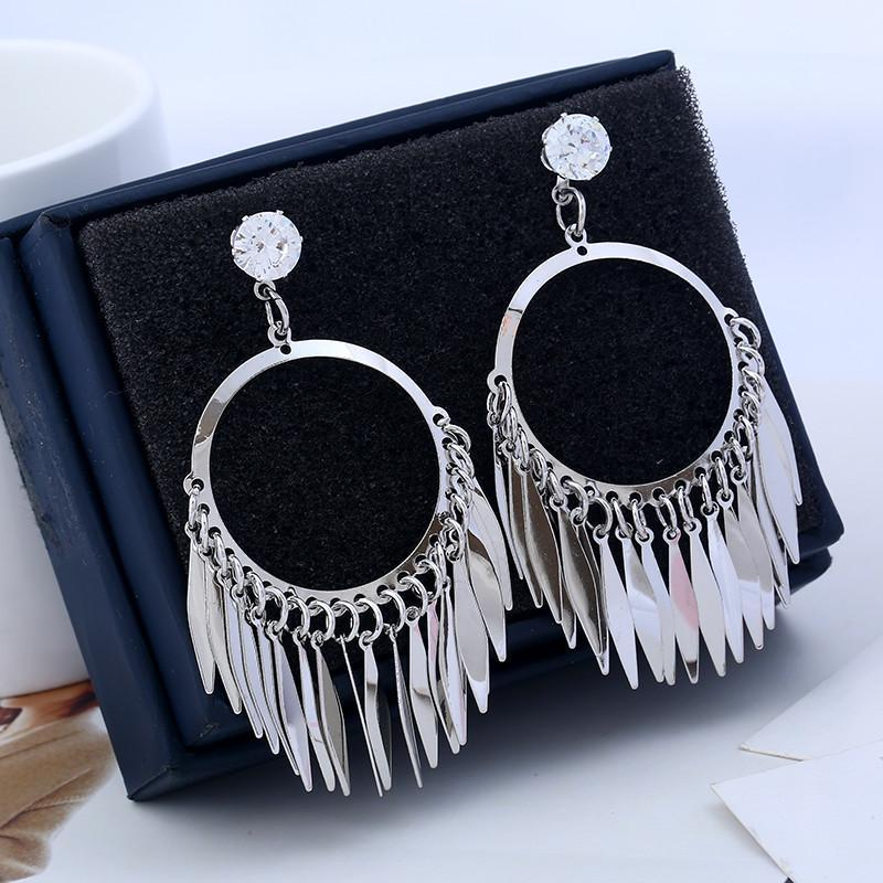 Earrings Crux Silver-Costume Jewellery