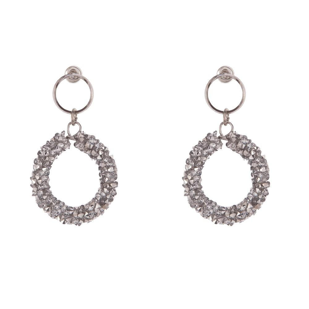 Earrings Hattie Silver - Costume Jewellery