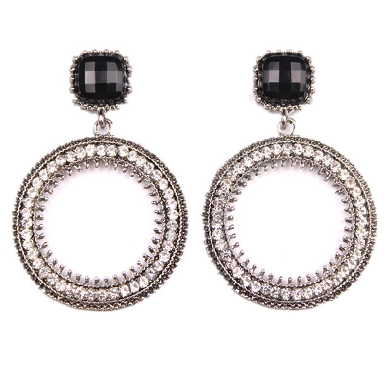 Earrings Kleio Silver-Costume Jewellery
