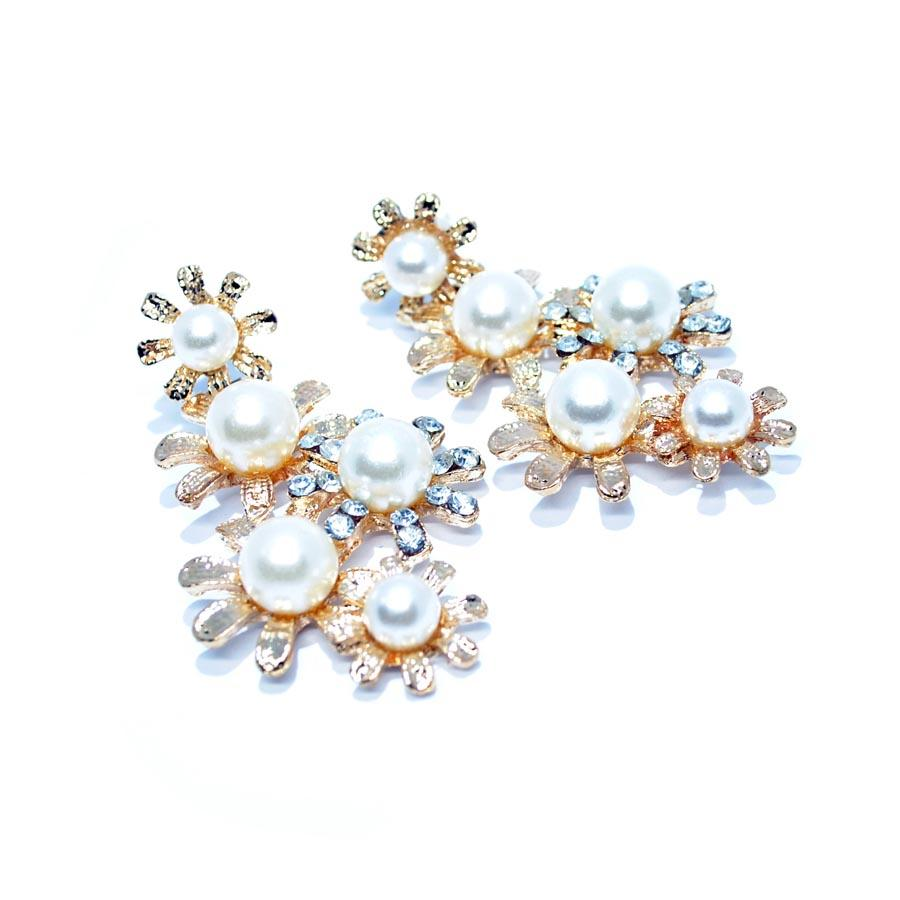 Earrings Margot Pearls-Costume Jewellery