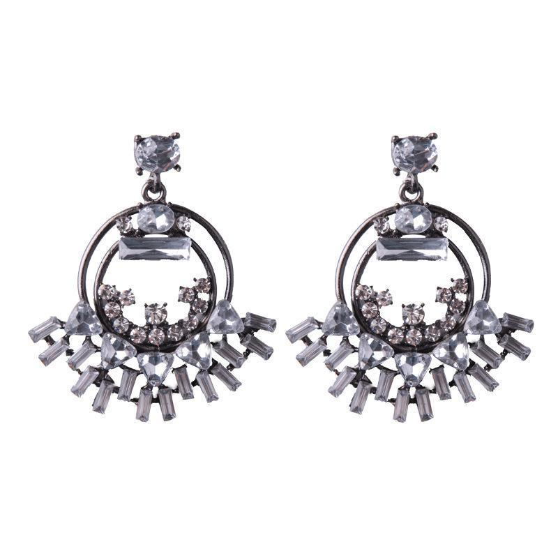 Earrings Virgo Silver-Costume Jewellery