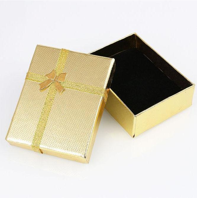 Jewelry Box Small Gold-Costume Jewellery
