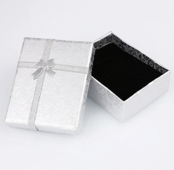 Jewelry Box Small Silver-Costume Jewellery