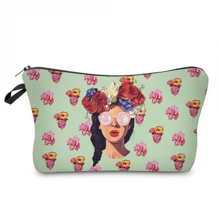 Makeup Bag Girl-Costume Jewellery