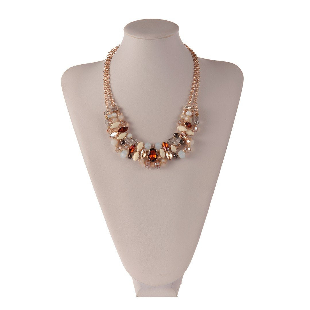 Necklace Alegra Gold - Costume Jewellery