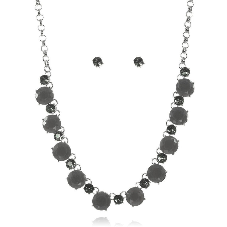 Necklace Artemesia + Earrings