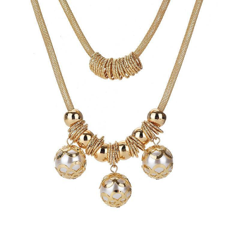Necklace Axelle Gold-Costume Jewellery