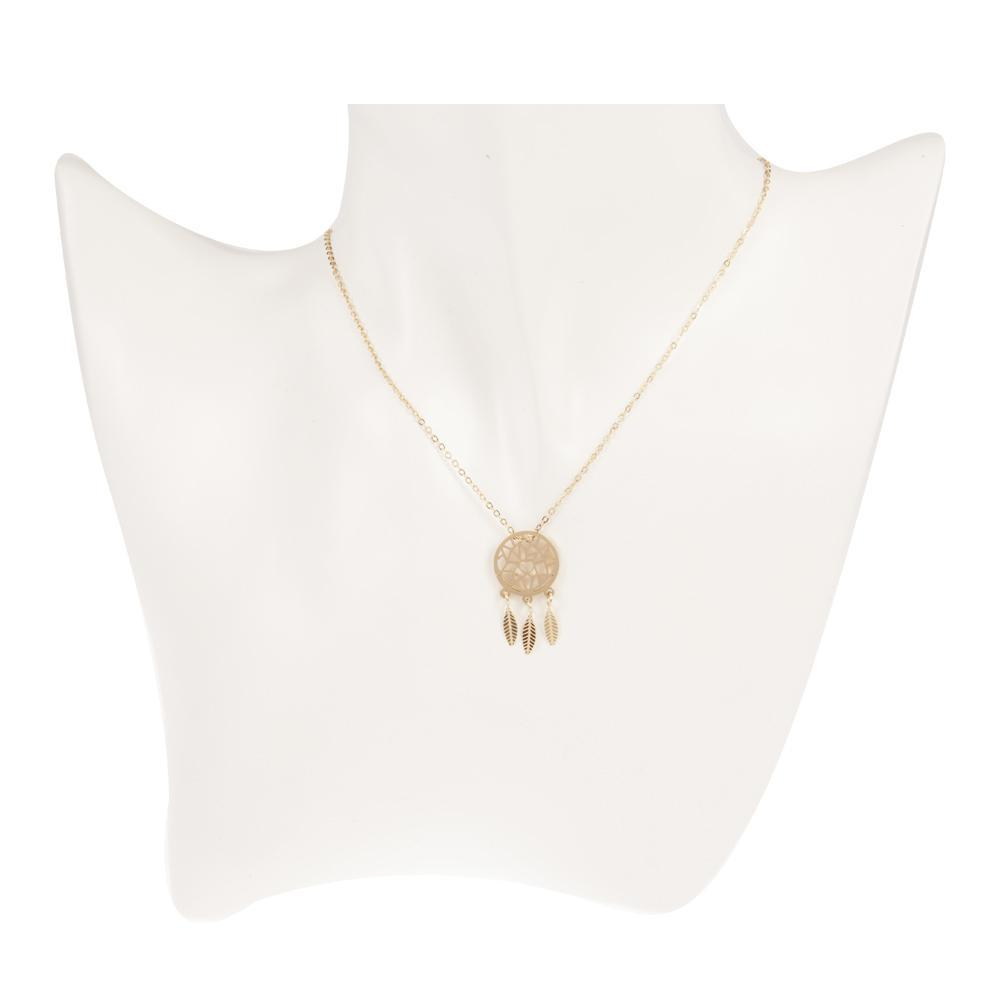 Necklace Calypso Gold Stainless Steel-Costume Jewellery