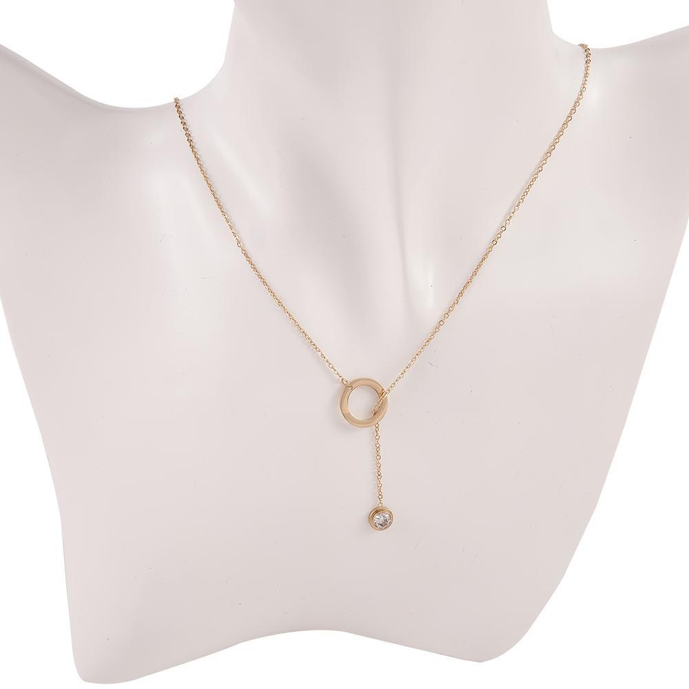 Necklace Celaneo Gold Stainless Steel-Costume Jewellery