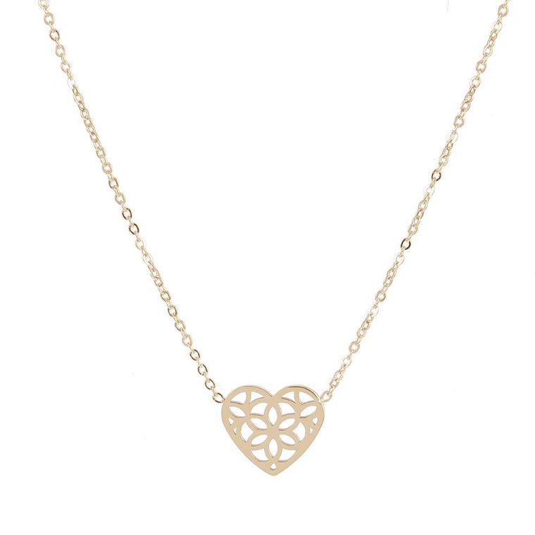 Necklace Nessima Gold Stainless Steel