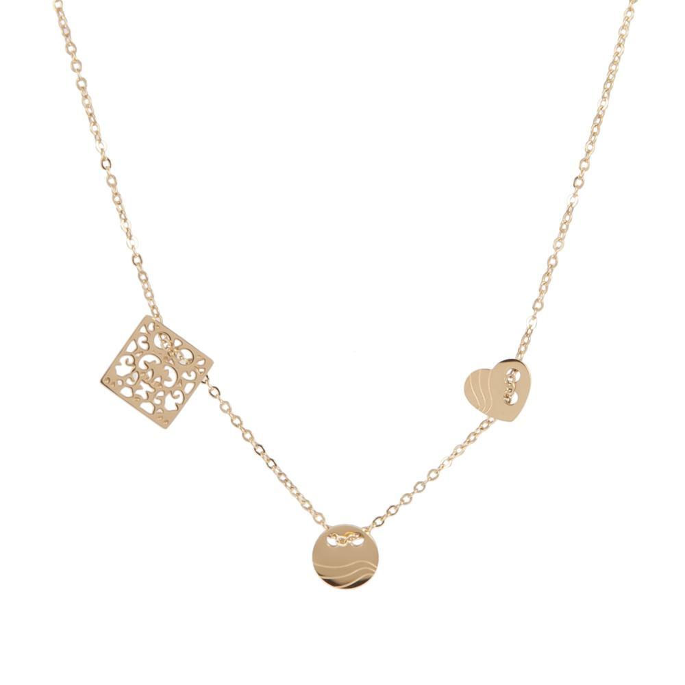 Necklace Estella Gold Stainless Steel-Costume Jewellery