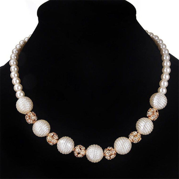 Necklace Eve Pearls