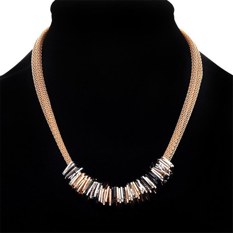 Necklace Ombo Gold-Costume Jewellery