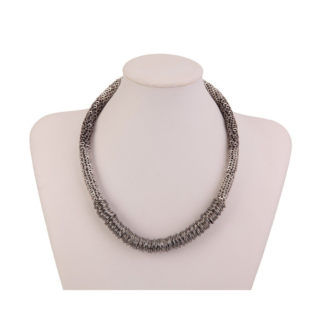 Necklace Raisa Silver - Costume Jewellery