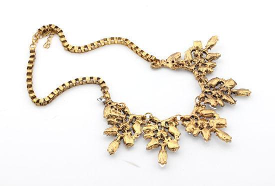 Necklace Safra Diamonds Gold-Costume Jewellery