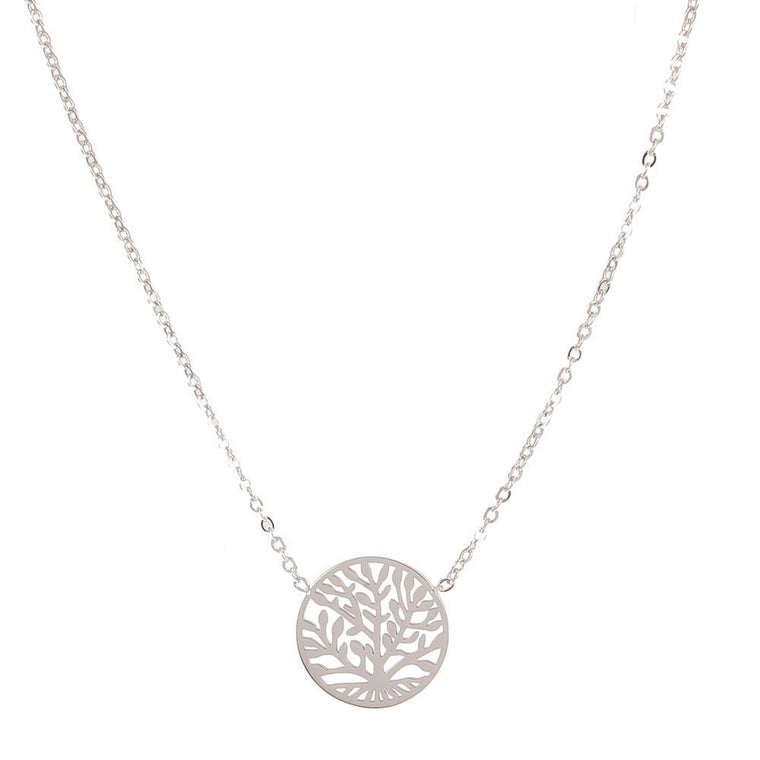 Necklaces Cordelia Silver Stainless Steel