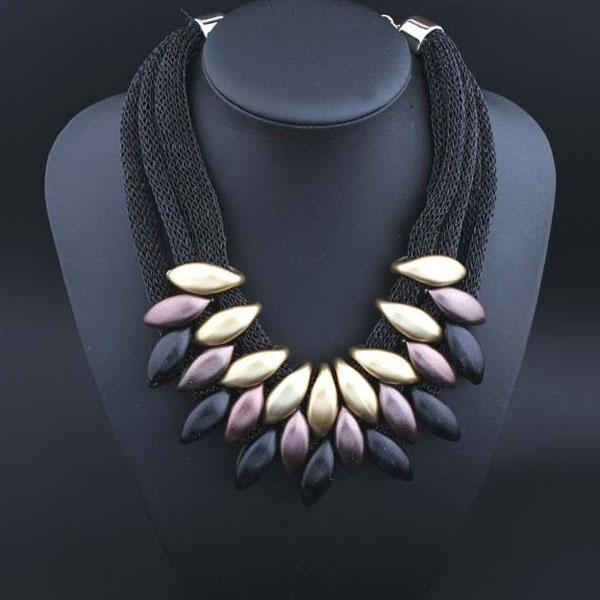 Set Bellini Gold & Black-Costume Jewellery