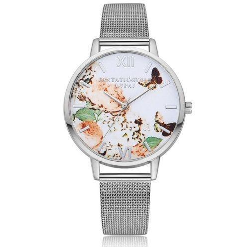 Watch Butterfly White