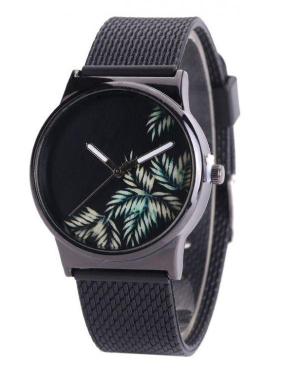 Watch Palm Black-Costume Jewellery