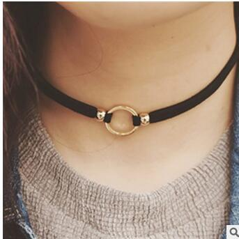 Collar Styled Choker Necklace