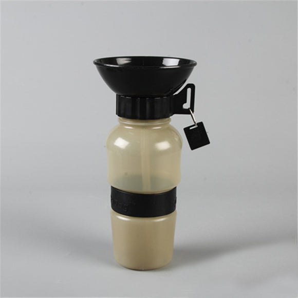 Drinking Cup Water Bottle For Travelling Pets
