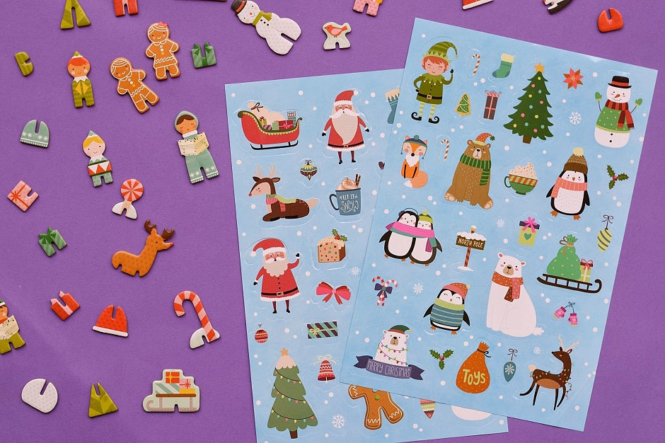 2 Stickers Sheets