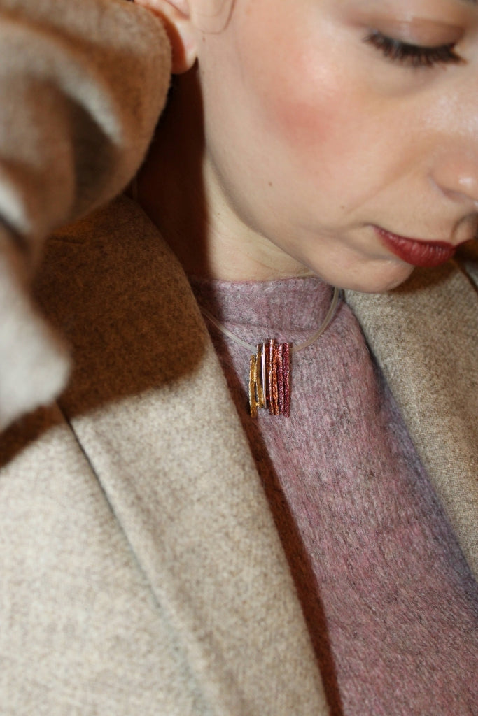 Coral and Lapislazzuli Necklace
