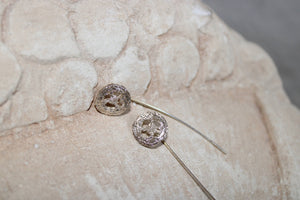 Bacca di Eucalipto Silver Earrings