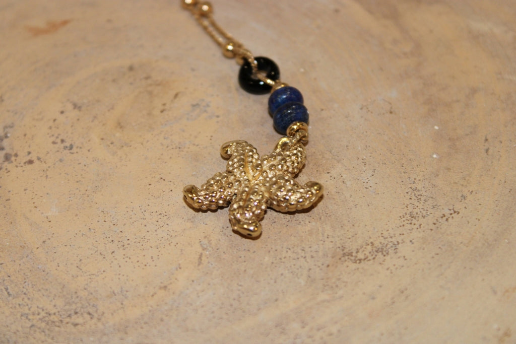 Lapislazzuli Seastar Necklace