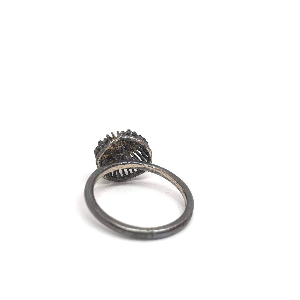 Golden Cage Ring