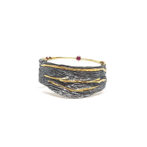 Gold Stripes Bangle